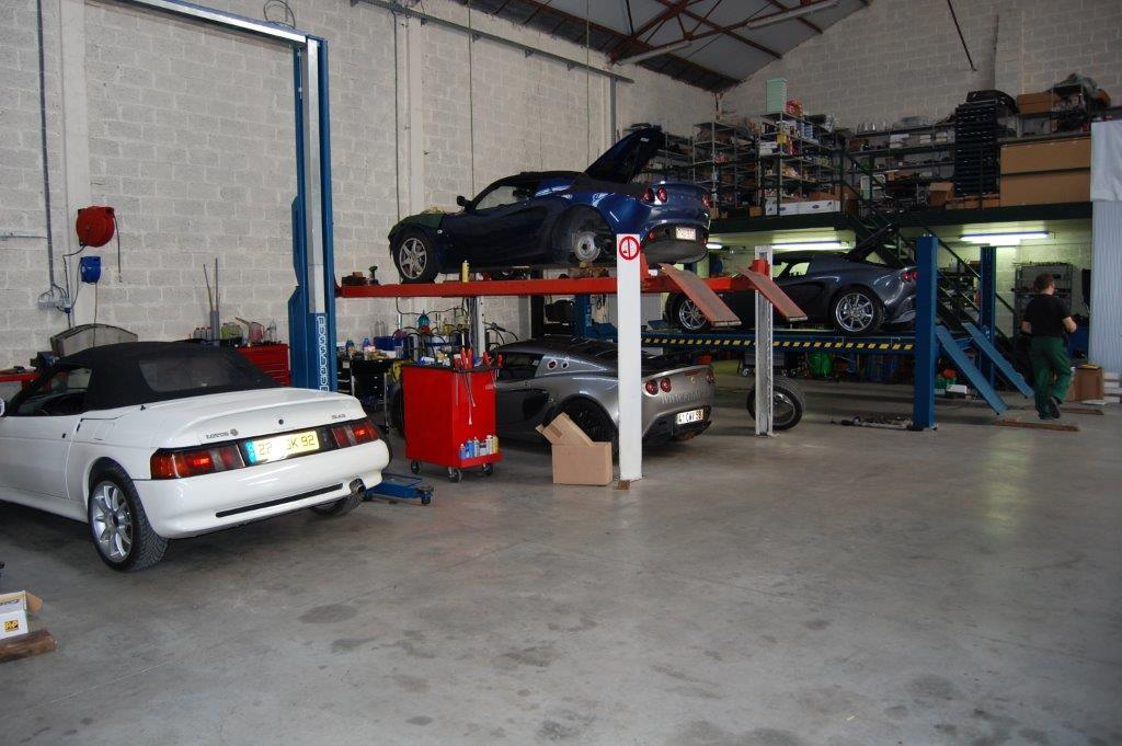 Werkplaats FVH Motors